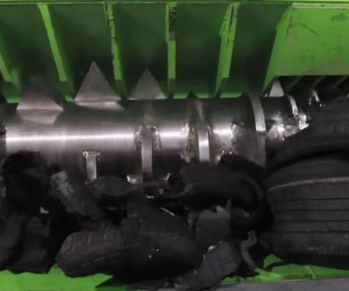 RAPTOR single rotor shredder